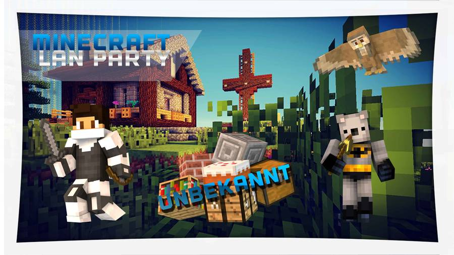 JuRa Hasloh Minecraft LAN Party - Minecraft spielen im lan